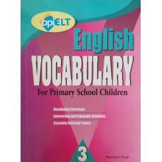 English Vocabulary For Primary School Children