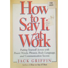How to Say It at Work